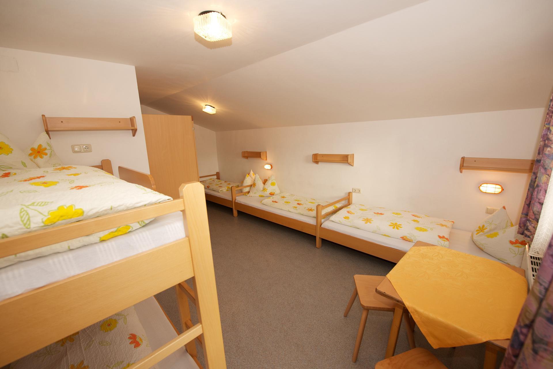 zimmer f r jugendgruppen jugendferienhaus salitererhof. Black Bedroom Furniture Sets. Home Design Ideas
